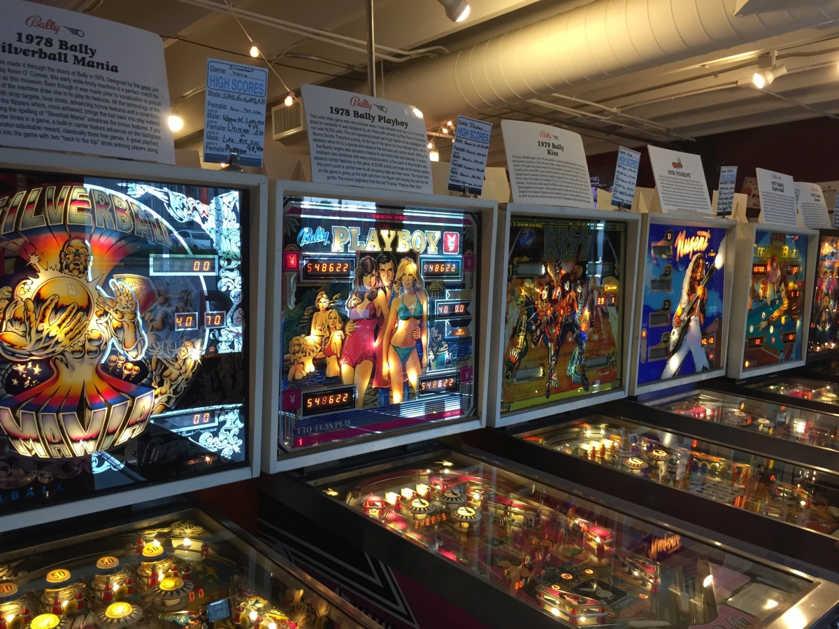 Silverball Museum Arcade In Asbury Park New Jersey