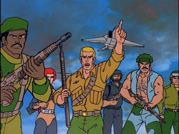 GI Joe cartoons
